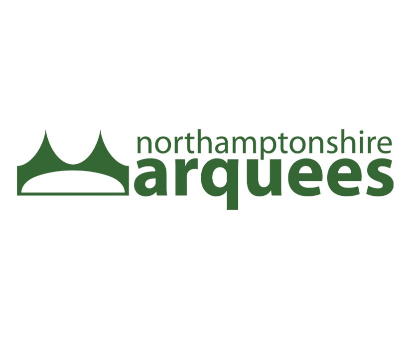 Logo designed for Northampton based Marquee Hire Company